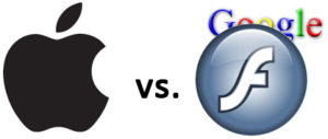 Apple vs. Adobe Flash (welche Rolle spielt Google?)