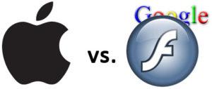 Apple vs. Adobe Flash (welche Rolle spielt Google?)