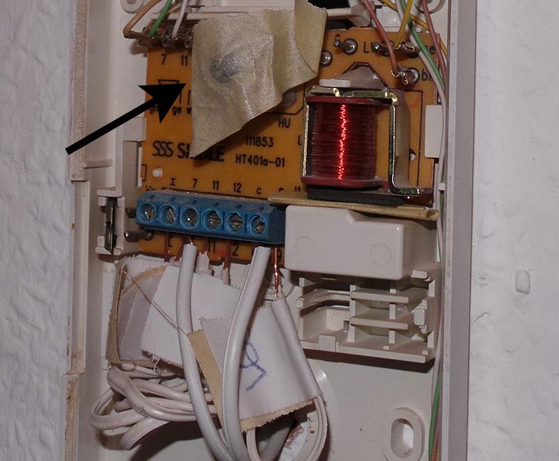Siedle HTA811-0W Haustelefon Analog weiß kaufen Elektro Wandelt